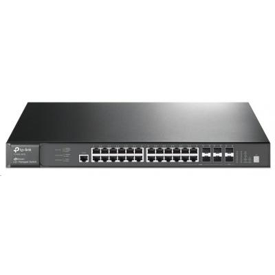 TP-Link T3700G-28TQ [28portový gigabitový řízený switch L3 JetStream]