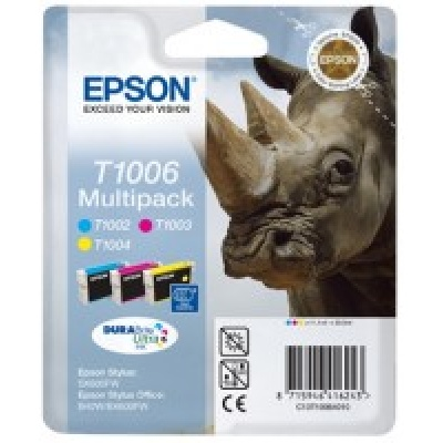 "EPSON ink bar Stylus Office ""Nosorožec"" B40W/SX600FW (T1006) - CMY multipack"