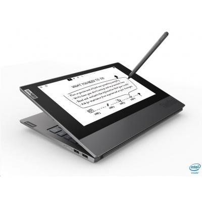 "LENOVO NTB ThinkBook Plus - i7-10510U@1.8GHz,13.3"" FHD IPS mat+10.8"" E Ink FHD Touch,16GB,512SSD,HDMI,USB-C,W10P,2r cc"