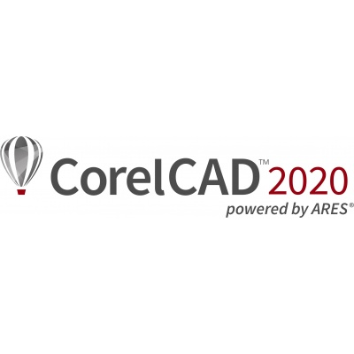 CorelCAD 2020 License PCM ML Lvl 5 (2501+) EN/BR/CZ/DE/ES/FR/IT/PL