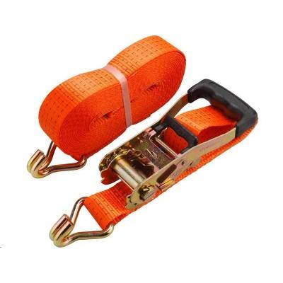 Extol Premium (8861155) pás upínací ráčnový s háky, 10m x 50mm, max. 4000kg, pevnost pásu: při opásání 4000 daN, v tahu
