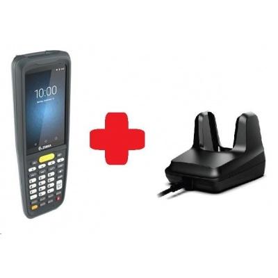 Zebra MC2200, 2D, SE4100, 2/16GB, BT, Wi-Fi, Func. Num., Android + cradle
