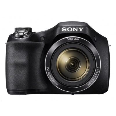 SONY DSC-H300 Cyber-Shot 20,1 MPix, 35x zoom - černý