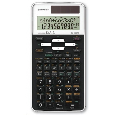 SHARP kalkulačka - SH-EL-506TSWH