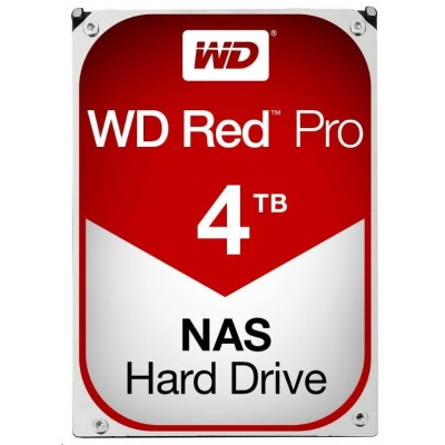 WD RED Pro NAS WD4003FFBX 4TB SATAIII/600 256MB cache, CMR