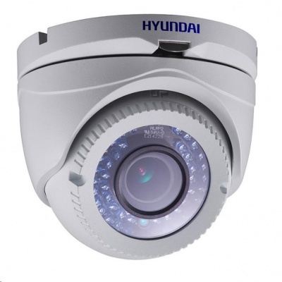 HYUNDAI analog kamera, 2Mpix, 25 sn/s, obj. 2,8-12mm (100°), HD-TVI, DC12V/PoC, IR 40m, IR-cut, IP66