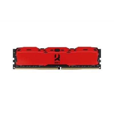 DIMM DDR4 8GB 3000MHz CL16 SR GOODRAM IRDM, red