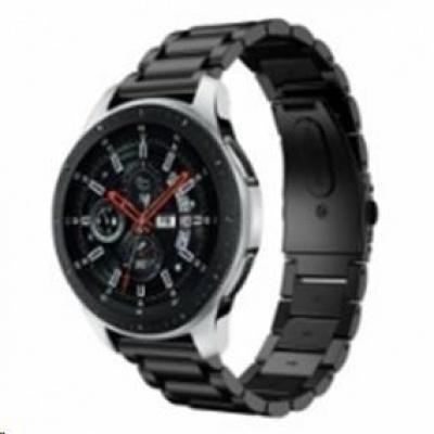 eses kovový řemínek černý pro samsung galaxy watch 42mm/samusung gear sport/ garmin vivoactive 3