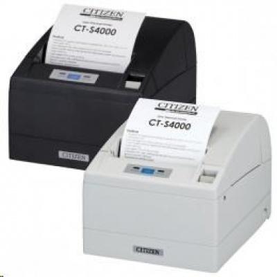 Citizen CT-S4000/L, USB, RS-232, 8 dots/mm (203 dpi), cutter, black