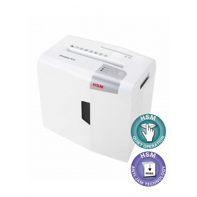 HSM skartovač ShredStar X5 White (velikost řezu 4,5x30mm, DIN P-4 (3))