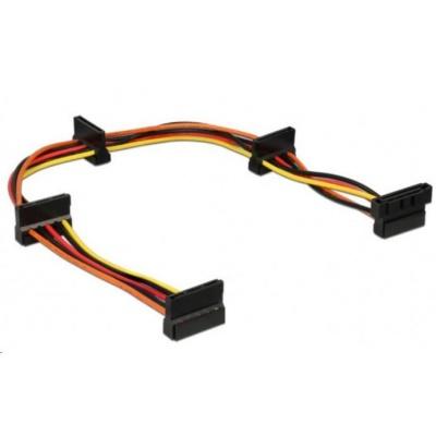 GEMBIRD Kabel CABLEXPERT SATA prodloužení napájení, 4x SATA