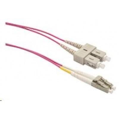 Solarix Patch kabel 50/125 LCupc/SCupc MM OM4 2m duplex SXPC-LC/SC-UPC-OM4-2M-D