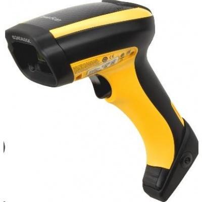 Datalogic PowerScan PBT9500, BT, 2D, SR, RB, black, žlutá