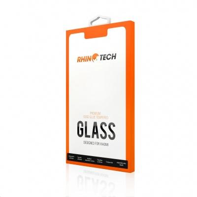 RhinoTech 2 Tvrzené ochranné 2.5D sklo pro Xiaomi Redmi Note 8 (Edge Glue) Black - pro Čínskou verzi