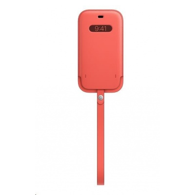 APPLE iPhone 12 | 12 Pro Leather Sleeve with MagSafe - Pink Citrus