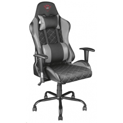 TRUST herní křeslo GXT 707R Resto Gaming Chair - grey