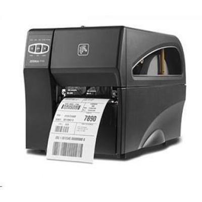 Zebra TT ZT220t průmyslová tiskárna, 300dpi, RS-232, USB, LAN, ZPL, TT
