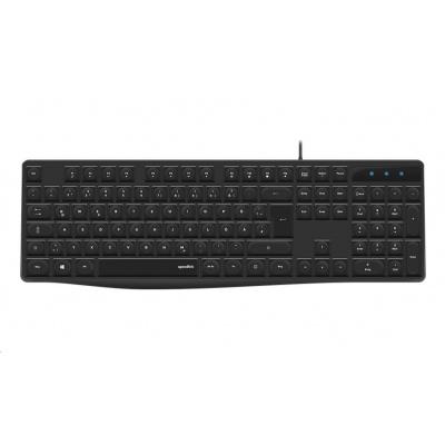 SPEED LINK klávesnice NEOVA Keyboard, černá, DE layout