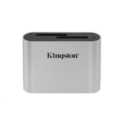 Kingston USB3.2 Gen1 Workflow Dual-Slot SDHC/SDXC UHS-II Card Reader