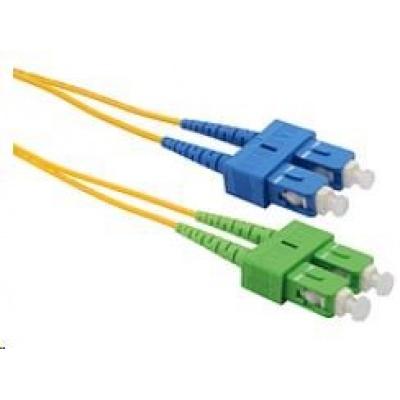 Solarix Patch kabel 9/125 SCapc/SCupc SM OS 2m duplex SXPC-SC/SC-APC/UPC-OS-2M-D