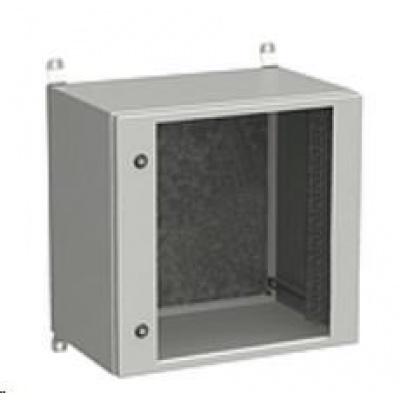 Solarix rozvaděč nástěnný venkovní LC-20 12U 600x400mm, dveře sklo, LC-20-12U-64-11-G
