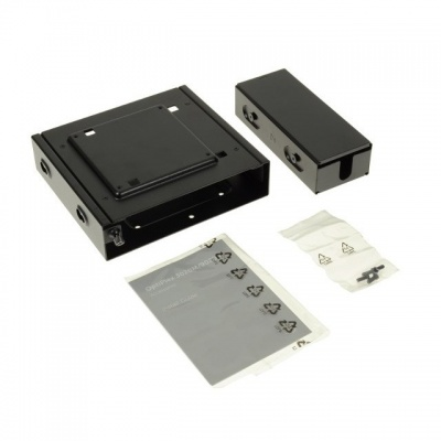 Dual VESA Mount Stand with adaptor box for Micro ChassisCustomer Install