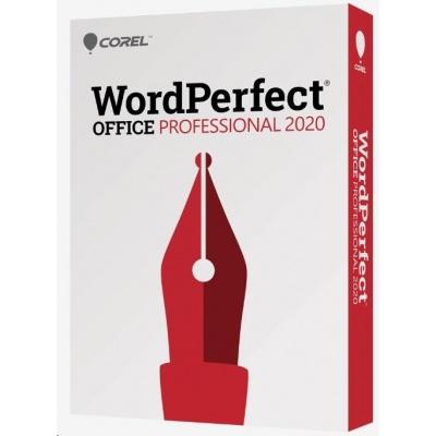 WordPerfect Office 2020 Pro Upgrade License Lvl 4 (100-249) EN/FR