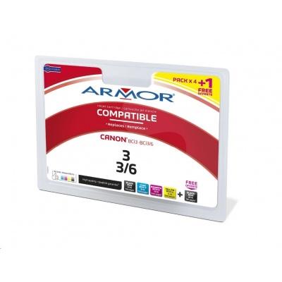 ARMOR ink-jet pre CANON i560, i860, i865, Pixma iP3000, iP4000, iP5000, MP750, MP780,  3x16ml, 2xBCi3Bk+BCi6CMY, 2xčierná/black+C+M+Y (2xBC-i3Bk+Bci-6CMY)