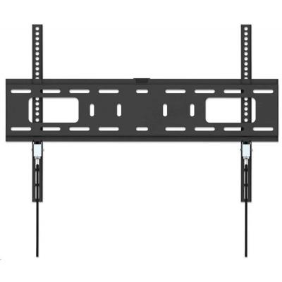 "MANHATTAN nástěnný držák TV (37"" to 70""), Heavy-Duty Low-Profile TV Wall Mount, pevný, tenký design, černá"