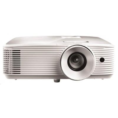 Optoma projektor EH412  (DLP, 1080p, Full 3D, 4500 ANSI, 22 000:1, VGA, HDMI, Audio, 1x10W speaker)