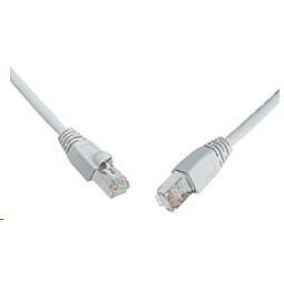 Solarix Patch kabel CAT6 SFTP PVC 1m šedý snag-proof C6-315GY-1MB