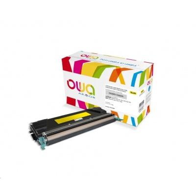 OWA Armor toner pro IBM Infoprint Color 1614, 1634, 3000 Stran, 39V0301, žlutá/yellow