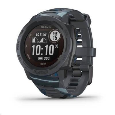 Garmin GPS sportovní hodinky Instinct Solar Surf Gray Optic