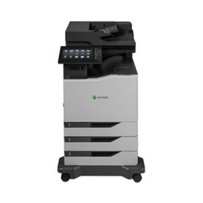 LEXMARK tiskárna CX825dte A4 COLOR LASER, 52ppm, 2048MB USB, LAN, duplex, dotykový LCD, 2x zásobník papíru