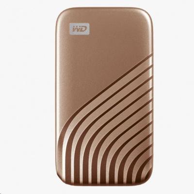 SanDisk WD My Passport SSD externí 500GB , USB-C 3.2 ,1050/1000MB/s R/W PC & Mac ,Gold