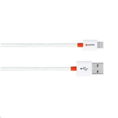 SKROSS USB kabel Travel Size Charge'n Sync , délka 2m, Apple Lightning konektor