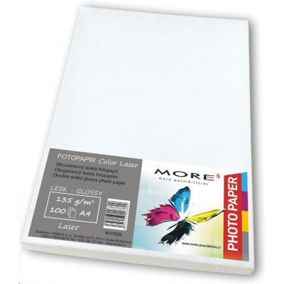 Hlazený Color Laser papír; 135g/m2; oboustranný; 100 listů str., Color Laser