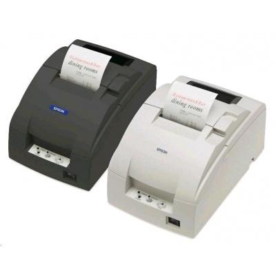 EPSON TM-U220B-007, USB, bílá, řezačka se zdrojem