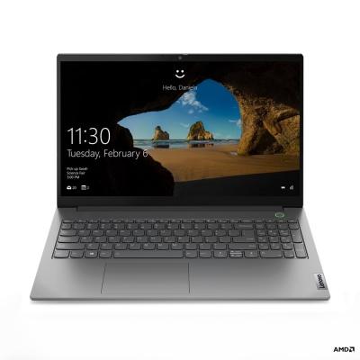 """LENOVO NTB ThinkBook 15 G2 ARE - Ryzen 5 4500U@4.0GHz,15.6"""" FHD IPS,8GB,512GBSSD,AMD Radeon Graph,USB-C,Šedá,W10H,2r cc"""