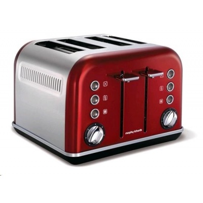 MORPHY RICHARDS Accents Red 4S topinkovač