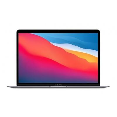 APPLE MacBook Air 13'',M1 chip with 8-core CPU and 7-core GPU, 256GB,8GB RAM - Space Grey