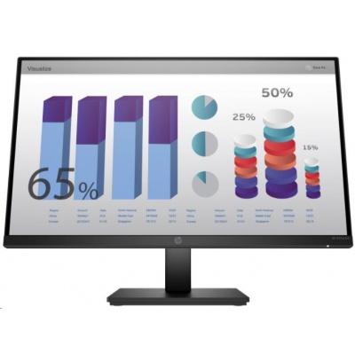 """HP LCD ProDisplay P24q G4 23.8"""" IPS w/LED micro-edge(2560x1440,300, 1000:1, 5ms,VGA, HDMI 1.4,flicker-free, low blue l.)"""