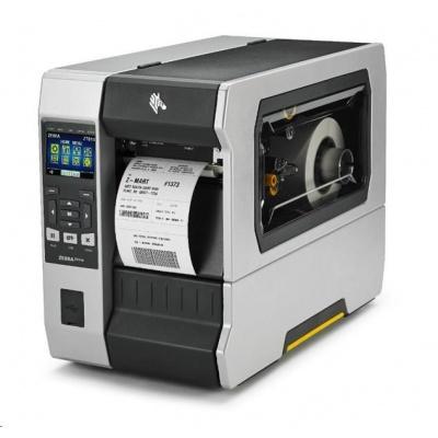 """Zebra TT průmyslová tiskárna ZT610, 4"""", 300 dpi, RS232, USB, Gigabit LAN, Bluetooth 4.0, USB Host, Tear, Color, ZPL"""