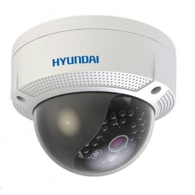 HYUNDAI analog kamera, 5Mpix, 20 sn/s, obj. 2,8mm (85°), HD-TVI / CVI / AHD / ANALOG, DC12V, IR 20m, WDR digit.,DNR,IP67