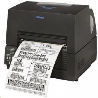 Citizen CL-S6621XL, 8 dots/mm (203 dpi), ZPLII, Datamax, Dual-IF, black