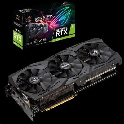 ASUS VGA NVIDIA ROG-STRIX-RTX2060-O6G-GAMING, RTX 2060, 6GB GDDR6