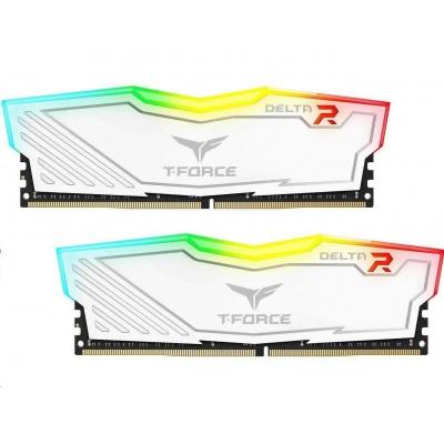 DIMM DDR4 16GB 3200MHz, CL16, (KIT 2x8GB), T-FORCE DELTA RGB (White)