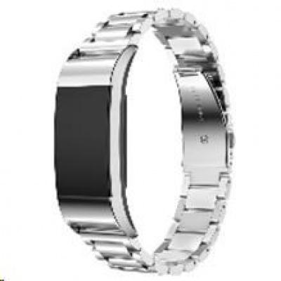eses kovový řemínek stříbrný pro Fitbit Charge 2