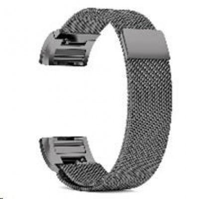 eses milánský tah černý pro Fitbit Charge 3