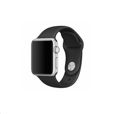 COTEetCI silikonový sportovní náramek pro Apple watch 42 / 44 mm černý